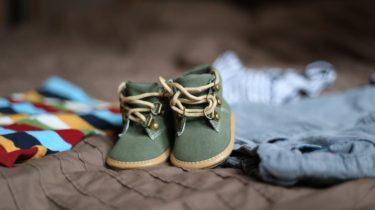 wybór pierwszych bucików dla niemowląt