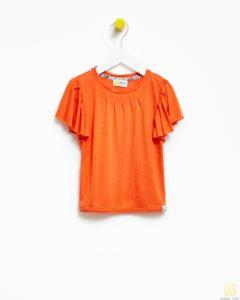 pomarańczowa bluzka dziewczęca